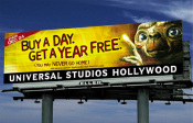 Universal Studios Hollywood - Buy A Day, Get A Year Free - E.T.