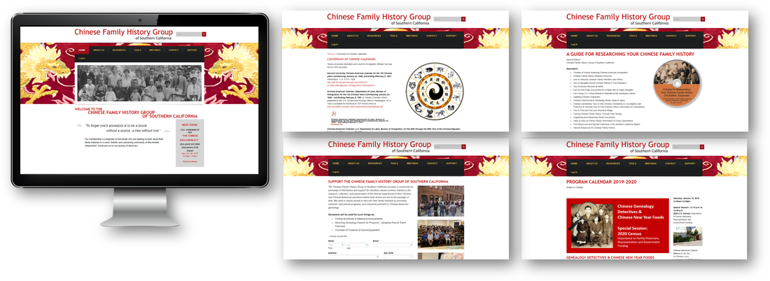 Nicolette A. Munoz Consulting - Chinese Family History Group of Southern California Website