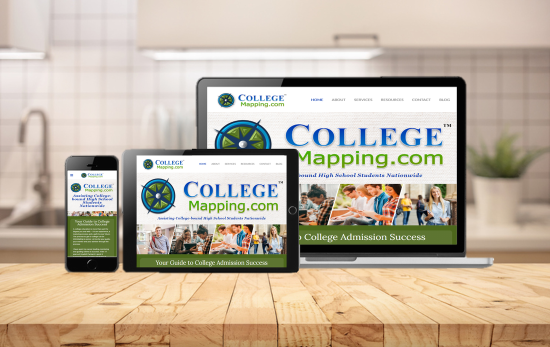 Nicolette A. Munoz Consulting - College Mapping Website Design